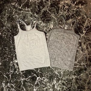 Grey Danskin Now Workout Tanktop Bundle